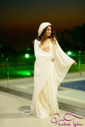 Elizabeth Beyaz Elbise