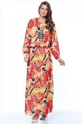 Turuncu Keyif Elbise