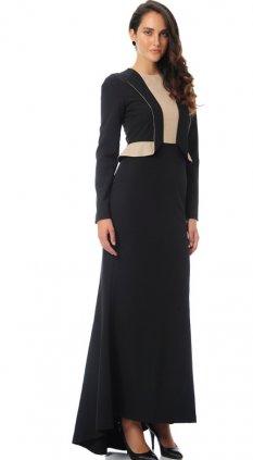 Melissa Siyah Elbise