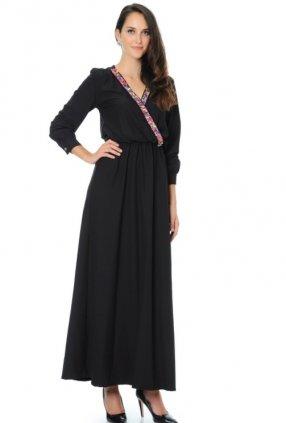 Siyah Yay Elbise