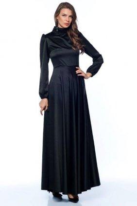 Siyah İpek Elbise