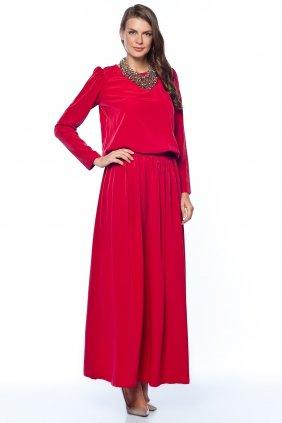 Kırmızı Keyif Elbise