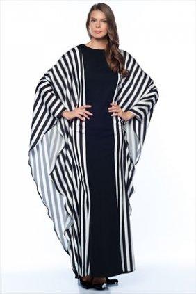 Candy Çizgili Elbise