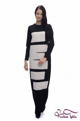 Helmut Siyah Beyaz Elbise
