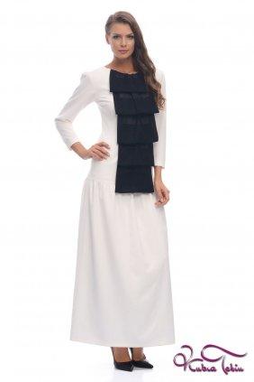 Celine Beyaz Elbise