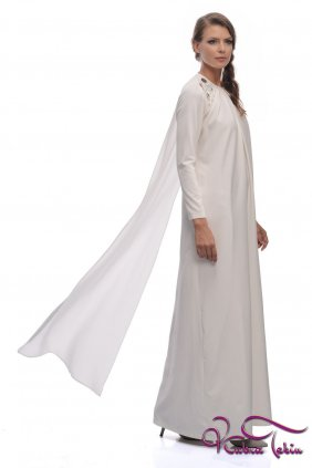 Angel Beyaz Elbise
