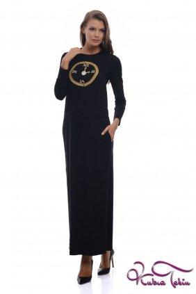 Milka Siyah Elbise