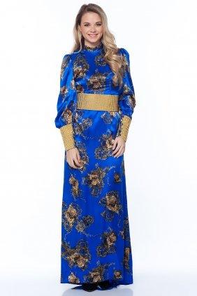 Saks İpek Elbise
