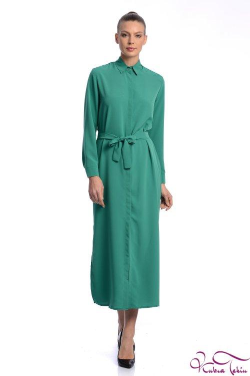 Jessica Yeşil Elbise
