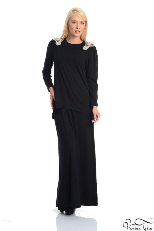 Tahseen Siyah Elbise
