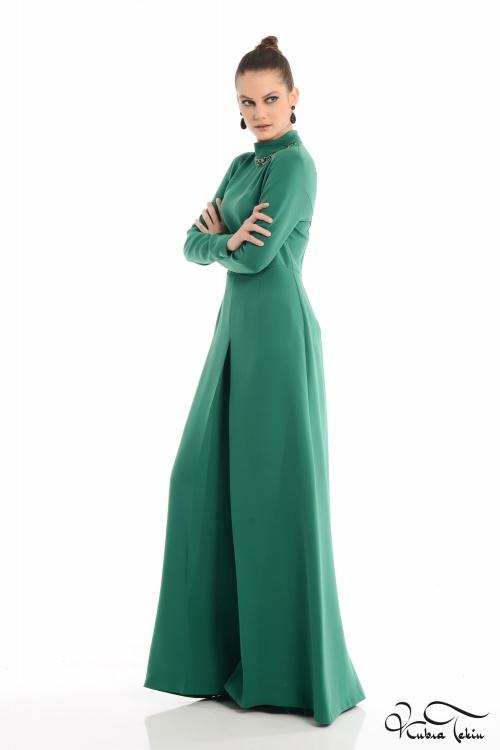 Carolina Yeşil Elbise