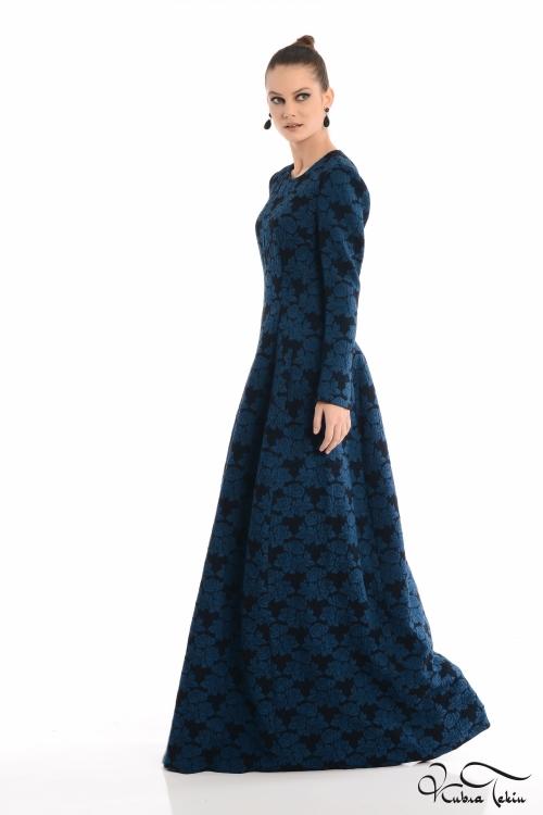 Silence Brocade Elbise