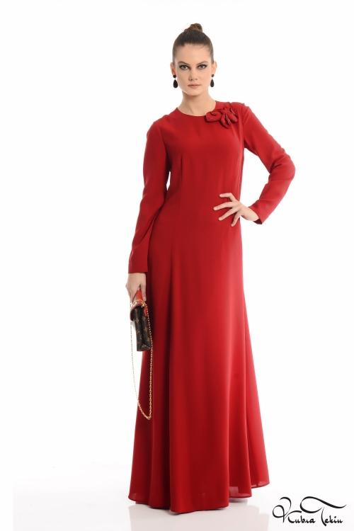 Silence Kırmızı Elbise