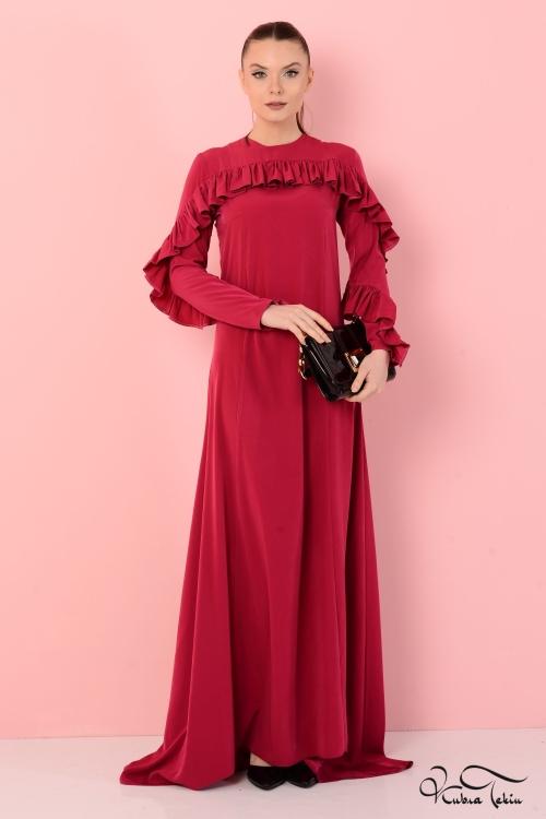 Loveless Kırmızı Elbise