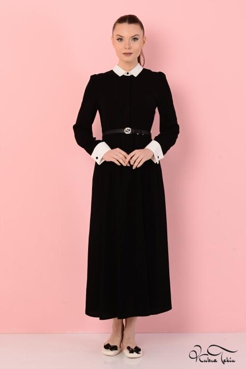 Carmen Siyah Elbise