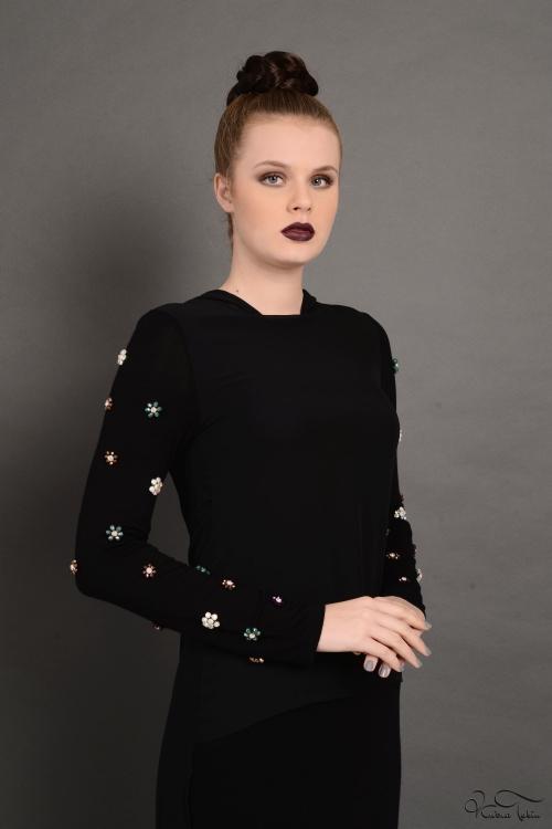 Dacia Lara Siyah Elbise