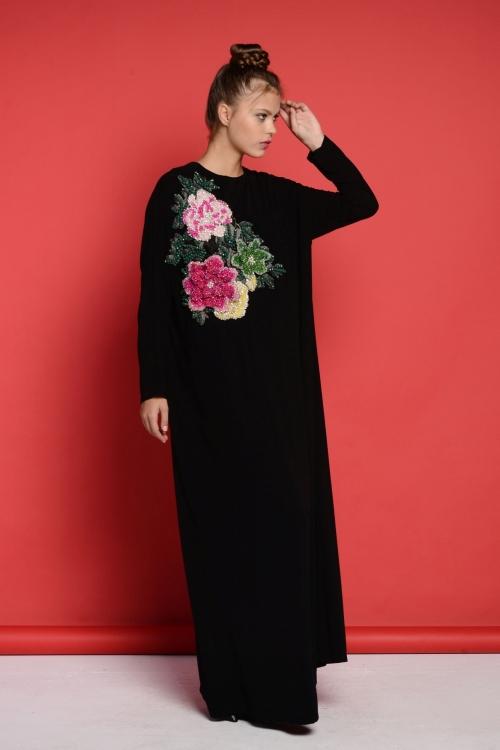 Sindy 3D Rose Elbise