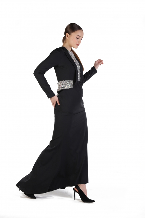 Melissa Overdoz İşlemeli Elbise