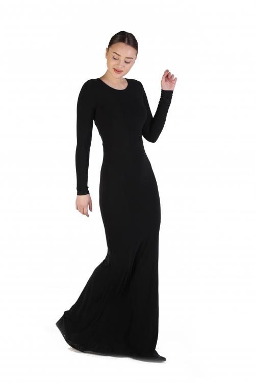 Siyah Balık Elbise