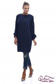 Zahra Buğulu Mavi Tunik