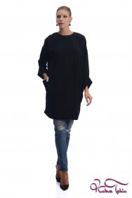 Zahra Siyah Tunik