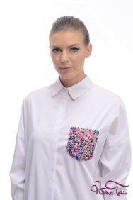Scarlett Beyaz Gömlek