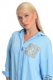 Scarlett Mavi Gömlek