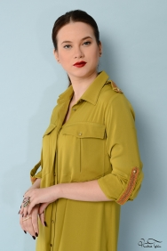 Natalia Sarı Tunik