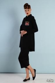 Alba Cepli Siyah tunik