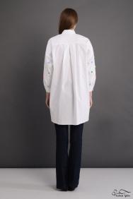 Lara Scarlett Beyaz Kol Detaylı Gömlek