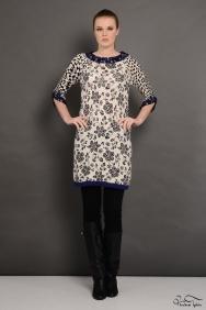 İva Siyah Kaşmir Tunik/ Elbise