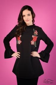 Nolita Siyah Rose Tunik