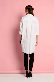 Scarlett Beyaz Motifli Gömlek