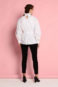 Beyaz Boğazlı Gömlek