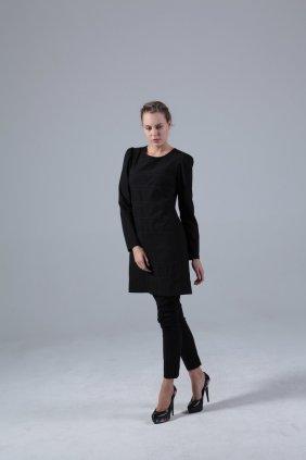 Klasik Siyah Tunik