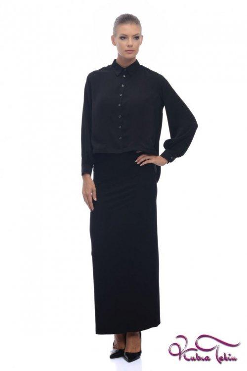 Sandra Siyah Gömlek