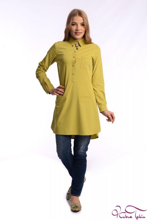 Tiffany Sarı Gömlek