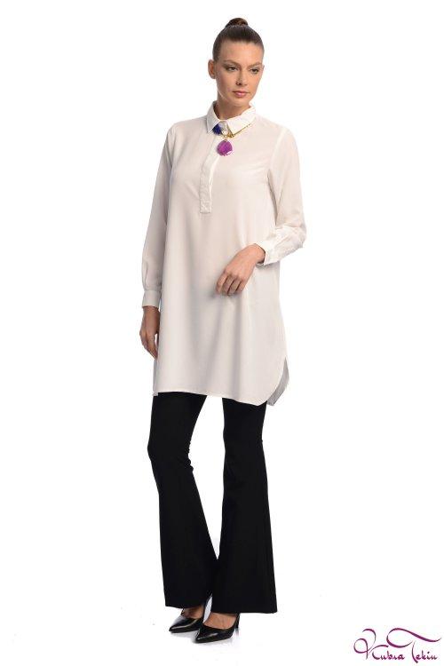 Sara Beyaz Gömlek