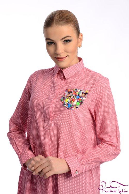 Sara Pembe Gömlek
