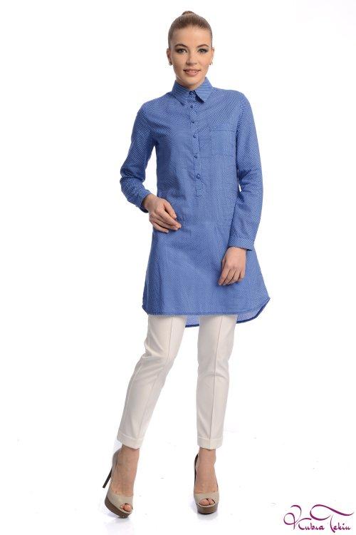 Tiffany Mavi Gömlek