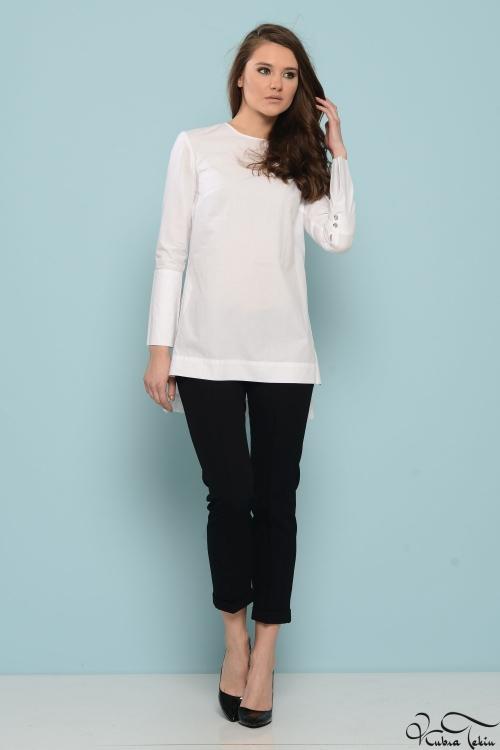 Caroline Beyaz Gömlek