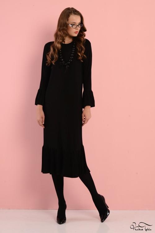 Fırfırlı Tunik Elbise