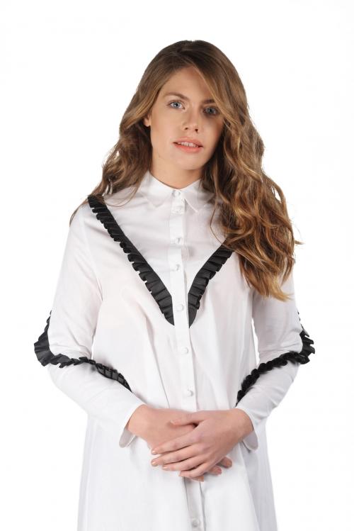 Debbie Beyaz Gömlek