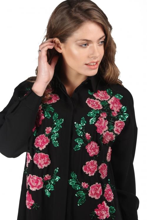 Scarlett Overdoz İşlemeli Gömlek