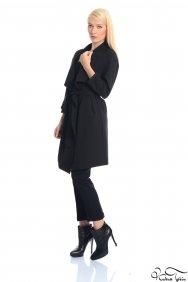Mira Siyah Trenchcoat