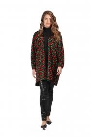 Kyla Kırmızı Çiçekli Ceket