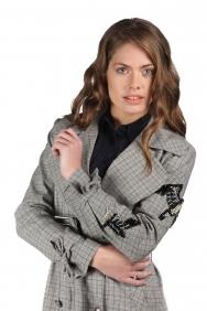 Fiona Gri Trençkot