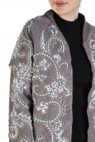 Vizon İşlemeli Ceket