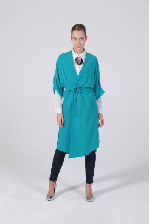Turkuaz Kimono
