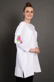 Tania Beyaz Kol Detaylı Sweatshirt